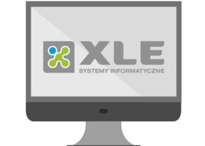 monitor z logo XLE